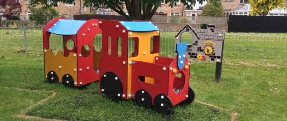 Toddler train at Churchcroft