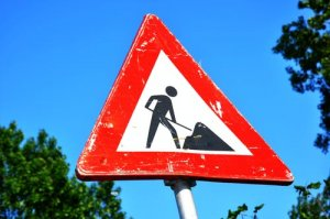 Resurfacing work outside Roade Primary School - Monday 14th & Tuesday 15th December